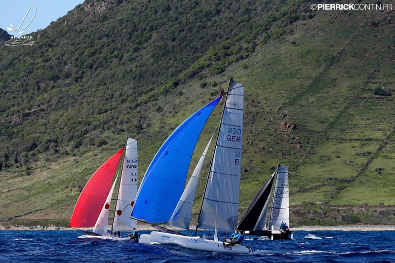 SAINTBARTH CATA-CUP 2016 : Prix Designaffairs : Journal De St Barth : Micha Steffens, Fabian Syring © Pierrick Contin