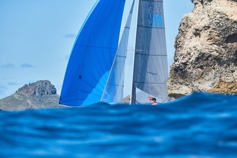 SAINT-BARTH CATACUP 2019 : Prix Marché U : BURNING TORCH : Tripp BURD, Charles TOMEO (TBA) © Michael Gramm