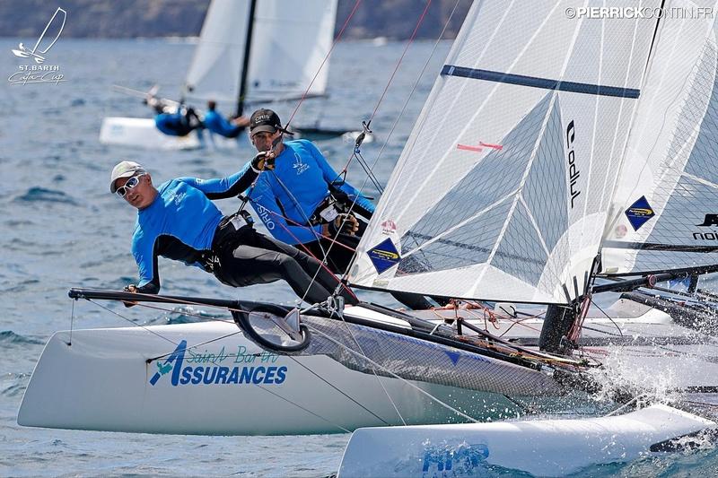 SAINTBARTH CATA-CUP 2016 : Prix St Barth Assurances - Allianz : St Barth Assurances Allianz 2 : Jeff Ledee, Vincent Jordil © Pierrick Contin