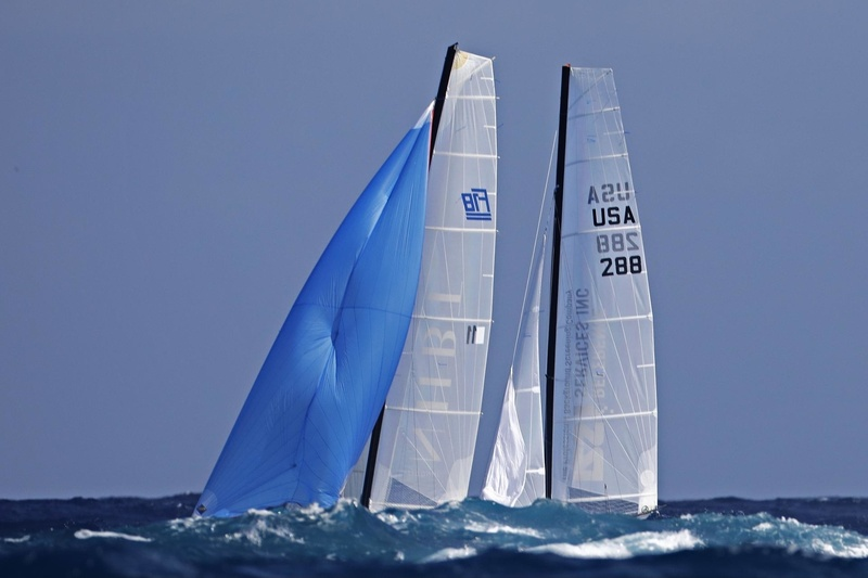 SAINT-BARTH CATACUP 2019 : Grand Prix St-Barth Assurance - Allianz : REFERENCE SERVICE INC : Charles FROEB, Matthieu MARFAING (USA288), INHABIT : Dalton TEBO, Ian RAY (1899) © Pascal Alemany
