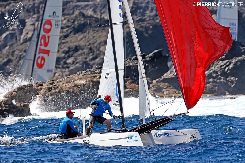 SAINTBARTH CATA-CUP 2016 : Prix St Barth Assurances - Allianz : St Barth Assurances Allianz 1 : Mitch Booth, Andy Dinsdale © Pierrick Contin