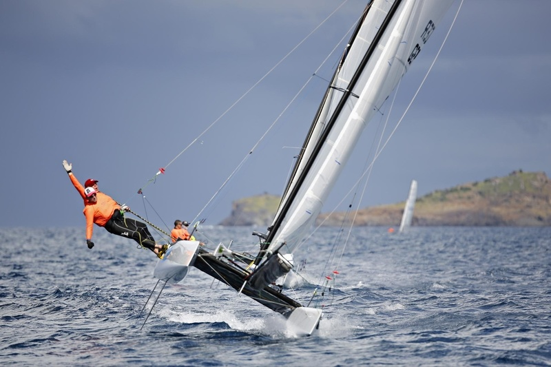 SAINT-BARTH CATACUP 2019 : Grand Prix Design Affairs : GSL IMPORT EXPORT : Ecki KAPHENGST, Max SAID (GER17) © Pascal Alemany