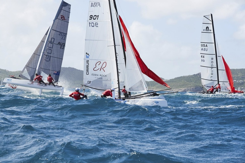 SAINT-BARTH CATA-CUP  2018 : Prix Saint-Barth Assurances Allianz : EDEN ROCK ST BARTH : Emmanuel BOULOGNE, Vincent BOULOGNE (FRA901) © Michael Gramm