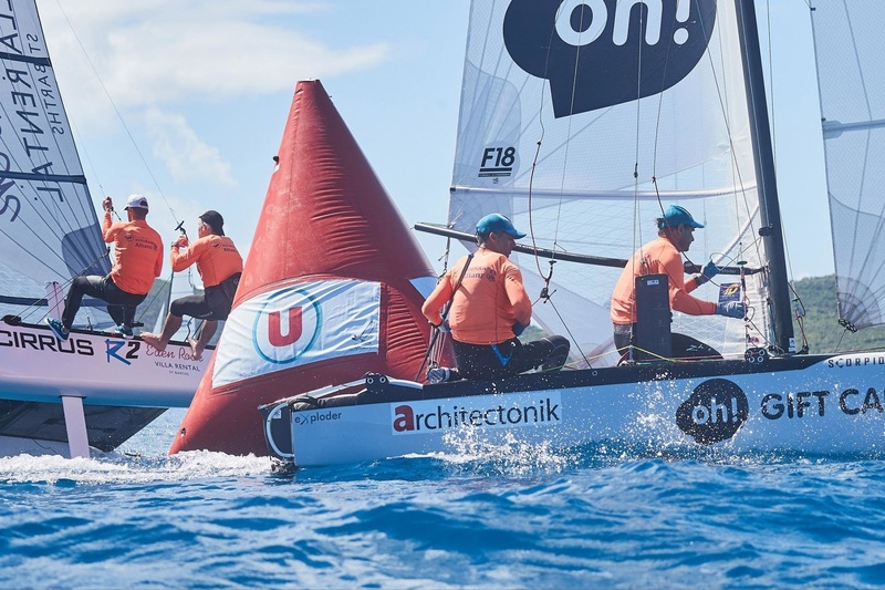 SAINT-BARTH CATACUP 2019 : Grand prix Marché U : ARCHITECTONIK : Cruz GONZALEZ SMITH, Mariano HEUSER (11) © Michael Gramm