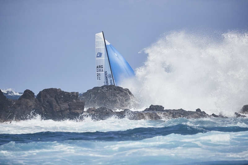 SAINT-BARTH CATACUP 2019 : Grand Prix Eden Rock : ST BARTH ASSURANCES -  ALLIANZ : Pablo VOLKER, Sergio MEHL (ARG-21) © Michael Gramm