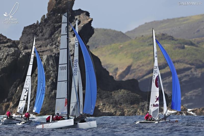 ST BARTH CATA CUP 2017 : Grand Prix St Barth Assurance Allianz : MARLA : Charles TOMEO - DALTON TEBO © Pascal Alemany