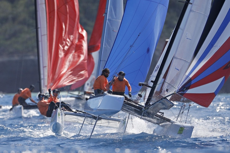SAINT-BARTH CATACUP 2019 : Grand prix Marché U : Palumbo Associates Inc : Olivier PILON, Guillaume ST-LOUIS BERNIER (CAN443) © Pascal Alemany