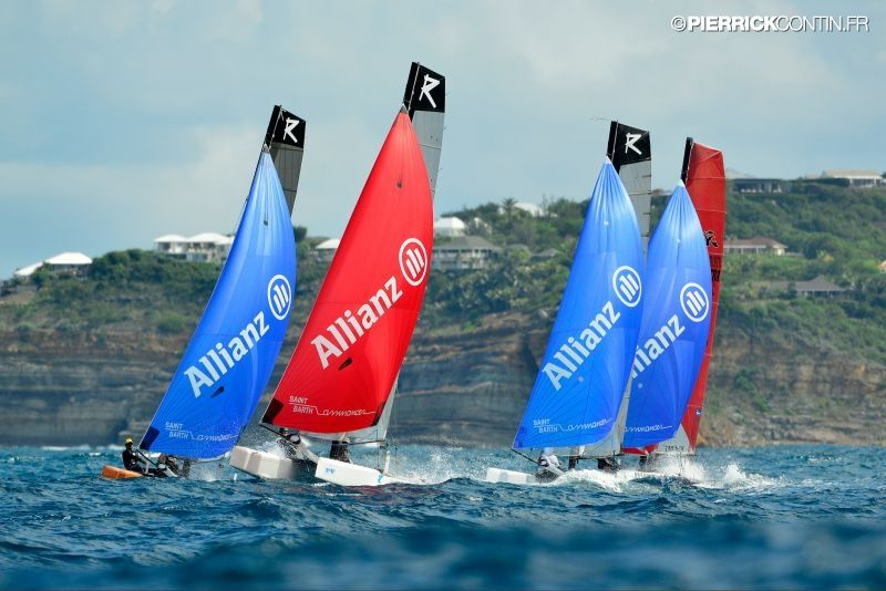 ST-BARTH Cata -Cup 2013 : First Training © © Pierrick Contin